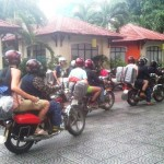 Chan May port to Hue by motorbike tours