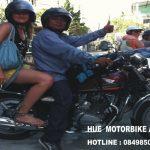 đi phượt từ Đà Năng ra Huế bằng xe máy
