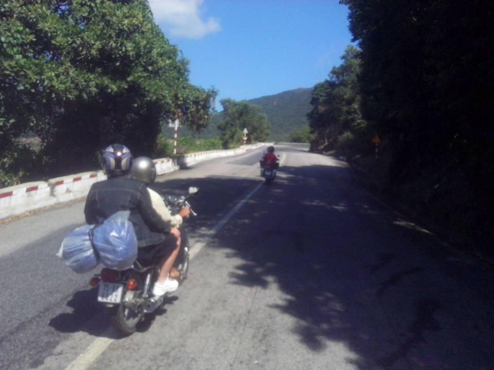 Da Nang to Hue by motorbike tours